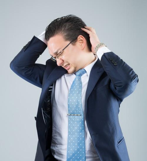 頭が痒い時のフケやできもの、かさぶたには注意が必要!